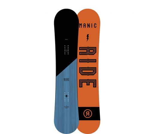 Placa Snowboard Ride Manic Wide 2017