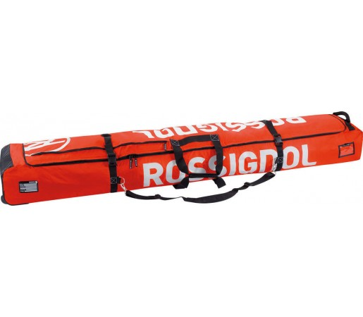Husa schiuri Rossignol Hero Ski Wheeled 2/3P 210 Red