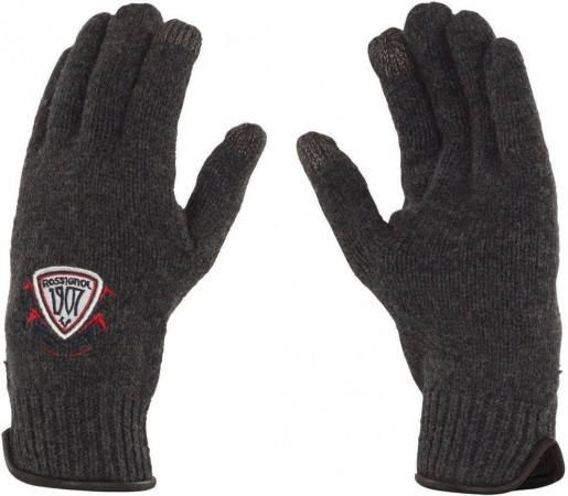 Manusi Rossignol 1907 Wool I-Tip Grey