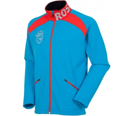 Midlayer Rossignol FZ Clim II WC Blue/Red