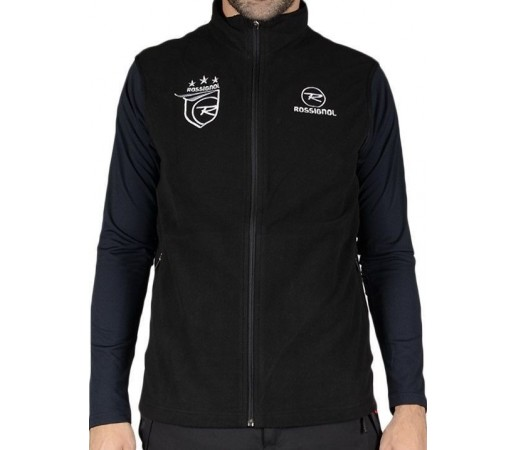 Vesta Midlayer Rossignol Racing Microfleece Zip Black