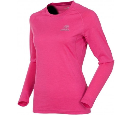 Bluza First Layer Rossignol W 170 Merino Wool LS Pink