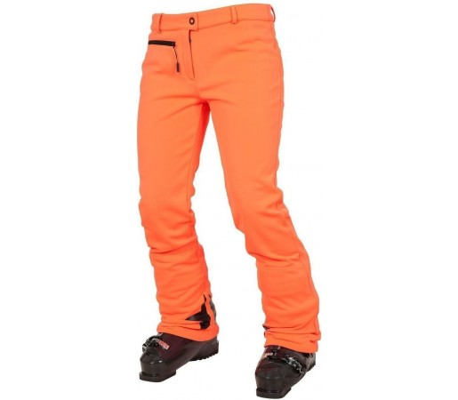 Pantaloni Schi si Snowboard Rossignol W Diamond Softshell Orange