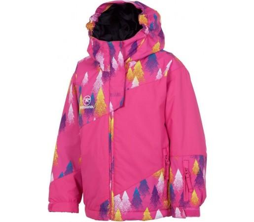 Geaca Schi si Snowboard Rossignol Kid Mini PR JKT Trees Pink