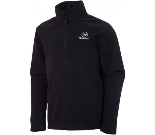 Midlayer Rossignol Boy 1/2 Zip Fleece Black