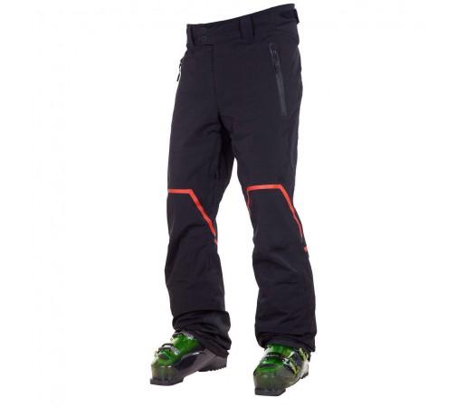 Pantaloni schi si snowboard Rossignol Hero Str Negri/Portocalii