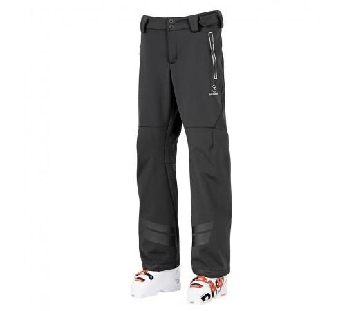 Pantaloni schi softshell Racing Negri