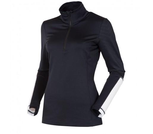 Bluza Rossignol Zip Neagra
