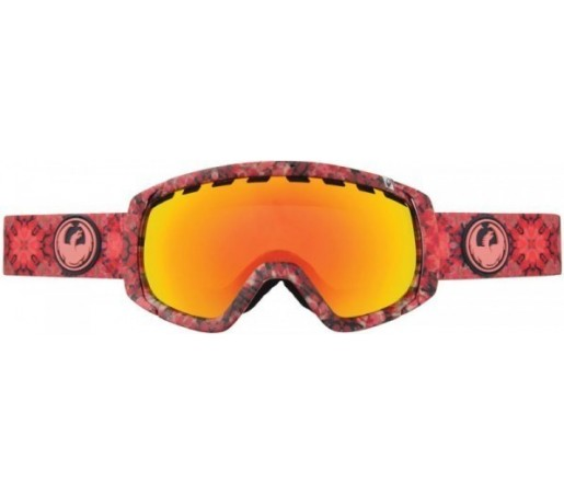 Ochelari Schi si Snowboard Dragon ROGUE Prism Rosu / Red Ion+ Yellow