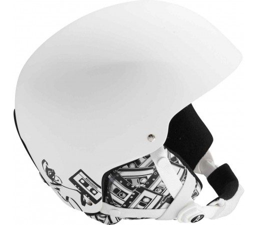 Casca schi si Snowboard Rossignol Spark Audio Alba