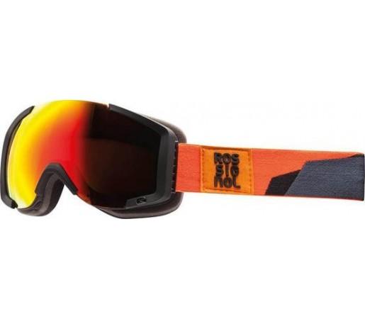 Ochelari schi si snowboard Rossignol Airis Camo M Portocalii