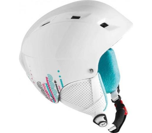 Casca Ski si Snowboard Rossignol COMP J FUN GIRL Alba 2016