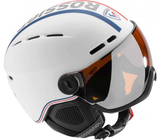 Casca schi si Snowboard Rossignol Visor Single Lense Alba