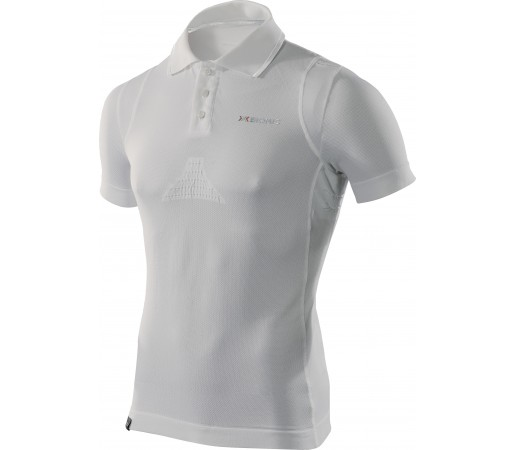 Tricou X-Bionic Functional Polo M Short White