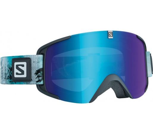 Ochelari de schi si snowboard Salomon X-View Albastri