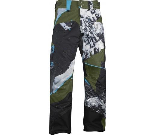 Pantaloni Salomon Zero M Bayou Green Water Polo Black