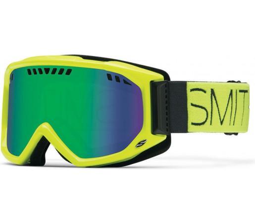 Ochelari Schi si Snowboard Smith Scope Pro Acid Block / Green Sol-X Mirror