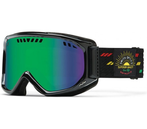 Ochelari Schi si Snowboard Smith Scope Pro Revival Irie / Green Sol-X Mirror