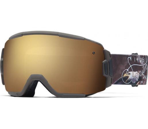 Ochelari Schi si Snowboard Smith VICE Screaming Eagle / Gold Sol-X mirror
