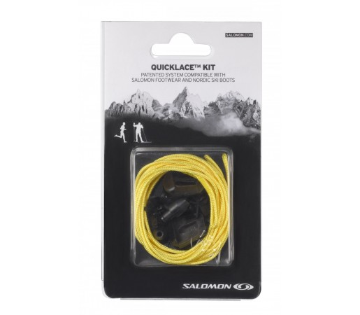 Sireturi Salomon Quicklace Kit Galbene