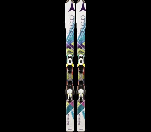 Ski Atomic AFFINITY AIR ETM white & XTE 10 Lady 2014