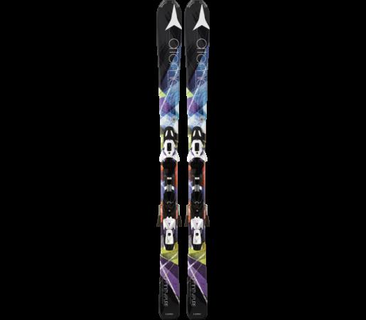 Ski Atomic AFFINITY PURE ETM black & XTE 10 Lady 2014
