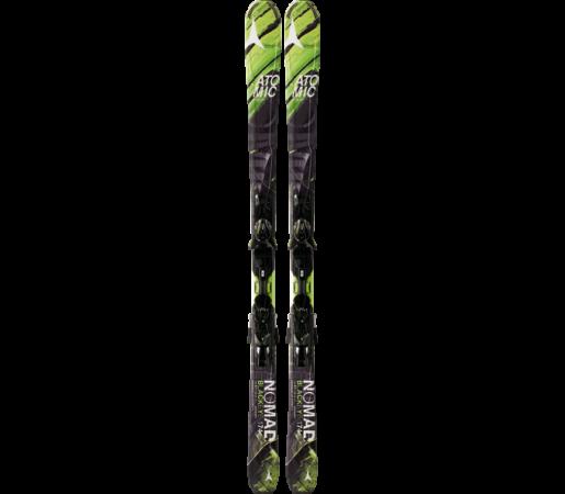 Ski Atomic BLACKEYE ARC-L black/green & XTO 12 2014