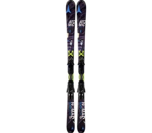 Ski Atomic BLACKEYE TI ARC black/blue & XTO 12 2014