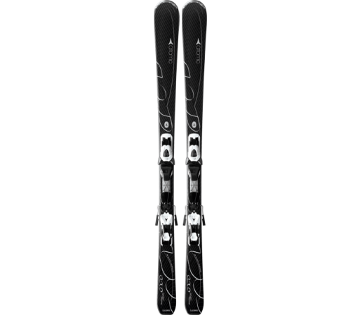 Ski Atomic CLOUD SEVEN black & XTE 10 Lady 2014