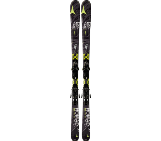 Ski Atomic SMOKE TI ARC black/yellow & XTO 12 2014