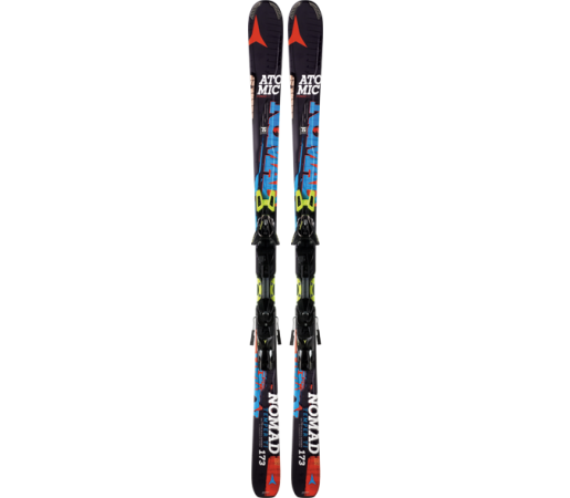 Ski Atomic TEMPER TI ARC black/blue & XTO 14 2014