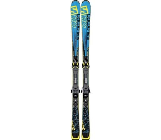 Ski Salomon K 24 Hours Pro Blue- Black