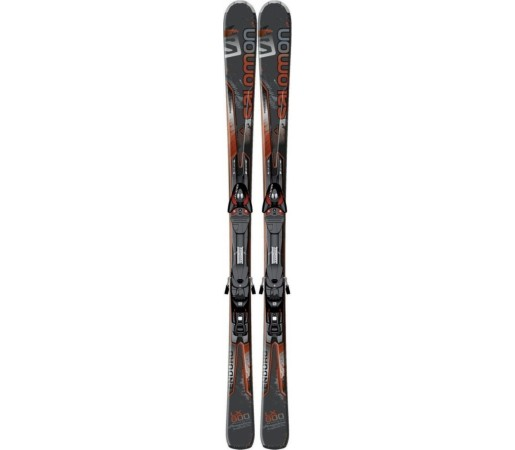 Ski Salomon K Enduro LX 800 Black