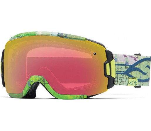 Ochelari Schi si Snowboard Smith VICE Sleepy Stevens / Red Sensor mirror