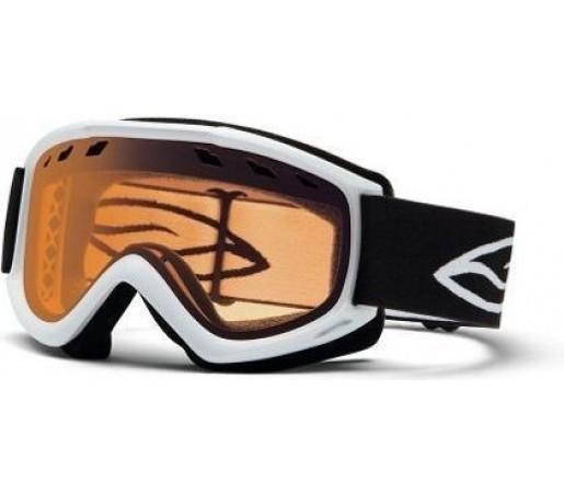 Ochelari Schi si Snowboard Smith Cascade Air White 13 Gold Lite