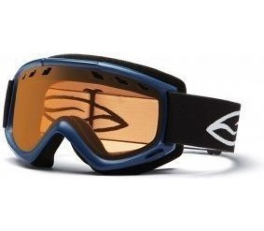 Ochelari Schi si Snowboard Smith Cascade Air JR Navy/ Gold Lite