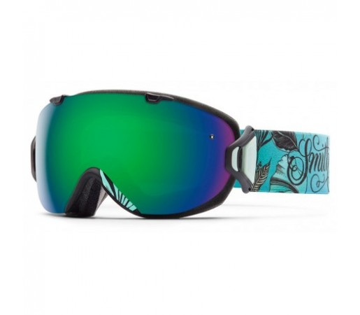 Ochelari ski si snowboard Smith I/OS Mrs Eaves Green-solx