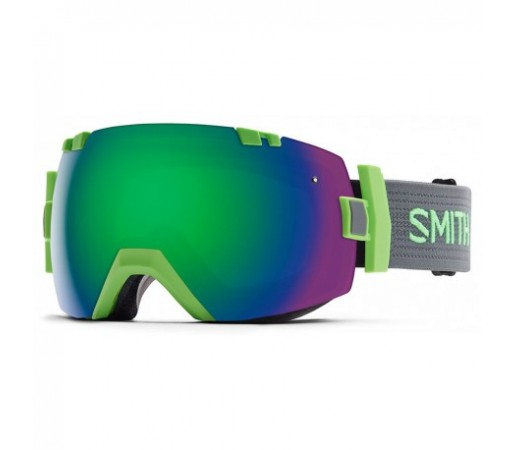 Ochelari ski si snowboard Smith I/OX Reactor Green-Solx