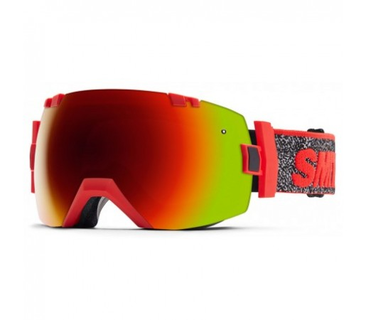 Ochelari ski si snowboard Smith I/OX Red Archive 1994 Red-Solx