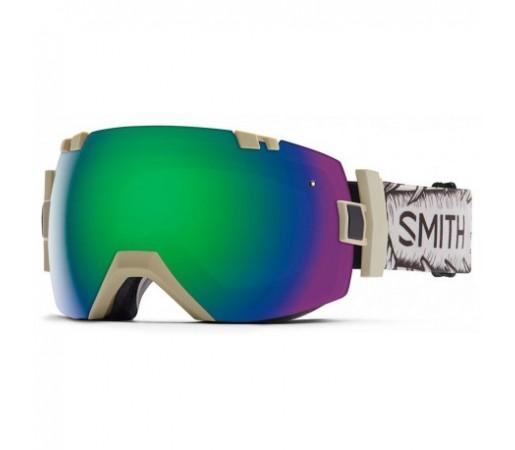 Ochelari ski si snowboard Smith I/OX Wise Stonethrow Green-Solx