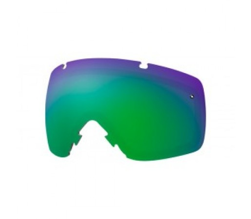 Lentile ochelari ski si snowboard Smith L I/O green sol x mirror