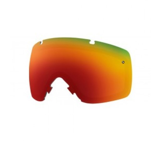 Lentile ochelari ski si snowboard Smith L I/O red sol x mirror