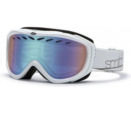 Ochelari Schi si Snowboard Smith TRANSIT PRO white 13 / blue sensor mirror lens