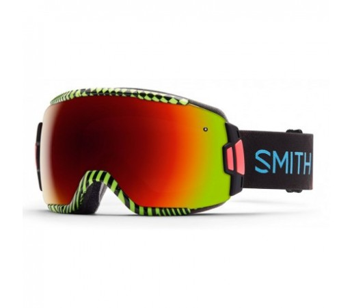 Ochelari ski si snowboard Smith Vice Neon Blacklight Red-Solx