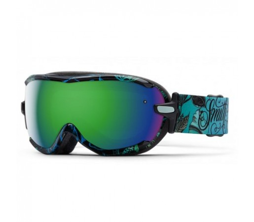 Ochelari ski si snowboard Smith Virtue Mrs Eaves Green-Solx