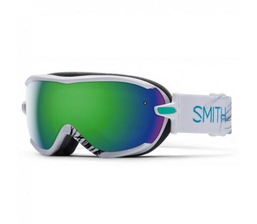 Ochelari ski si snowboard Smith Virtue White Feathers Green-Solx