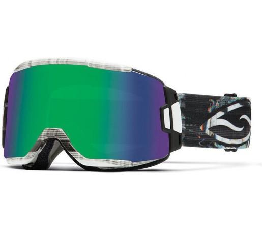 Ochelari Schi si Snowboard Smith Squad Vertical Hold / Green Sol-X mirror