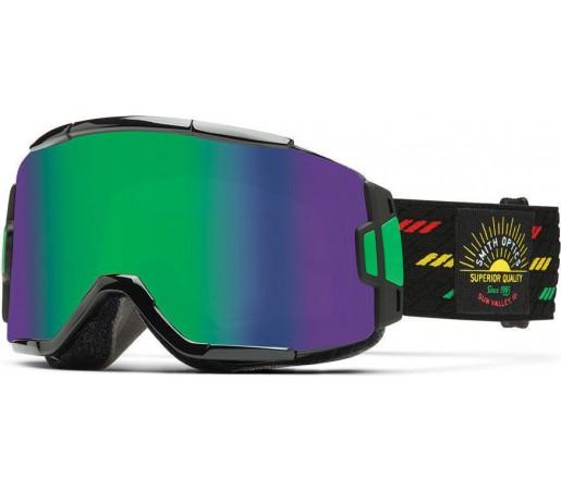 Ochelari Schi si Snowboard Smith Squad Revival Irie / Green Sol-X mirror