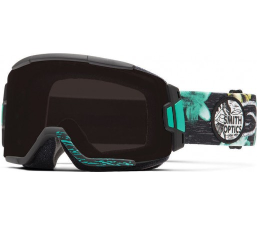 Ochelari Schi si Snowboard Smith Squad Black Burnout / Blackout