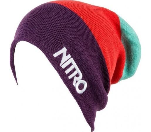 Caciula Nitro M Stacked Mov/Rosu/Aqua